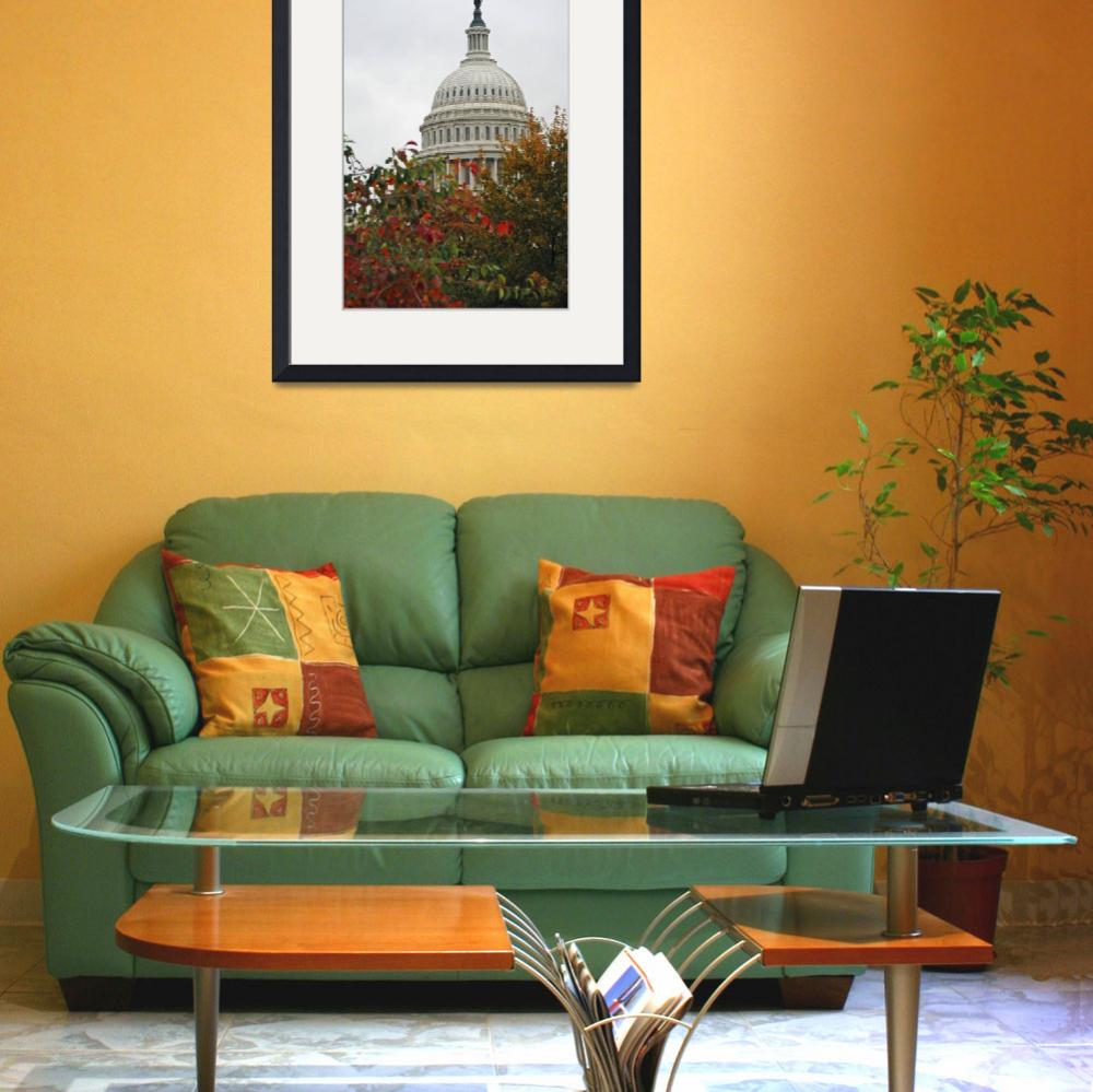 """Fall Capitol Building&quot  (2007) by pkotter"