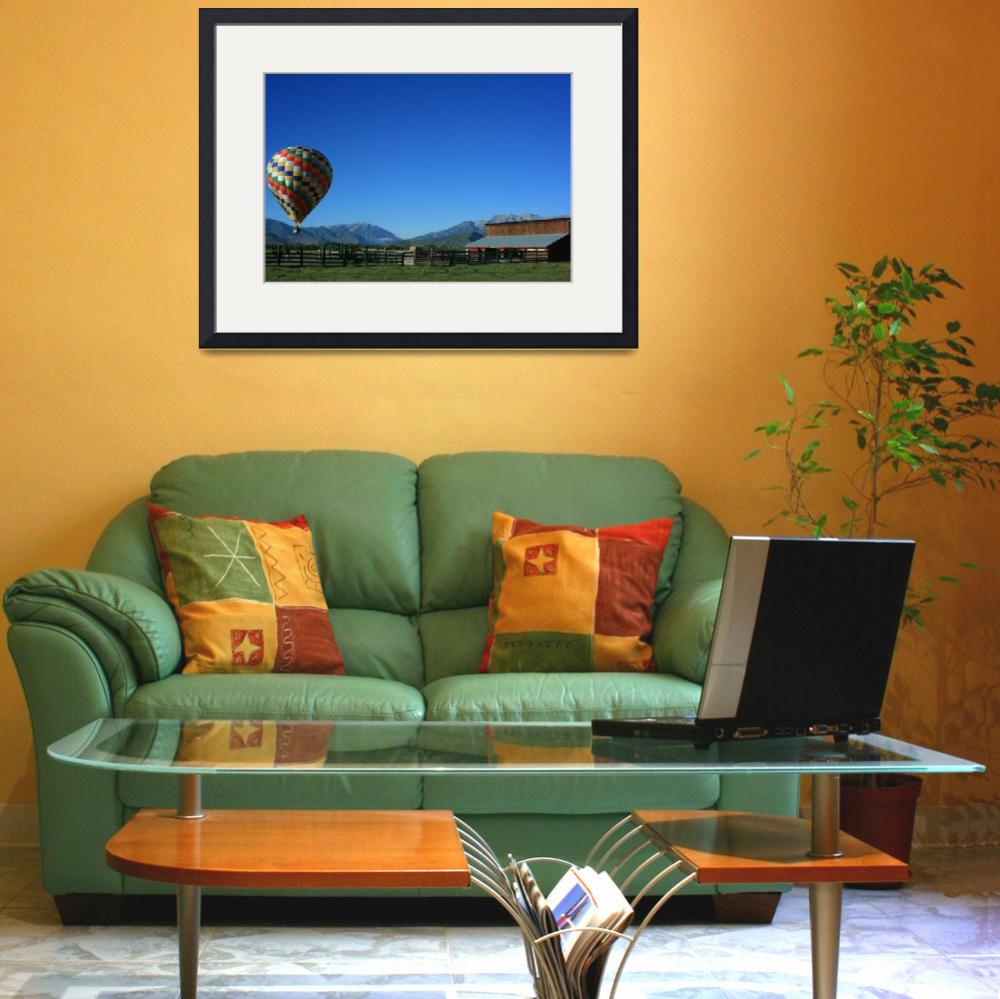 """""""Ballooning in the Country&quot  (2010) by Snappergal"""