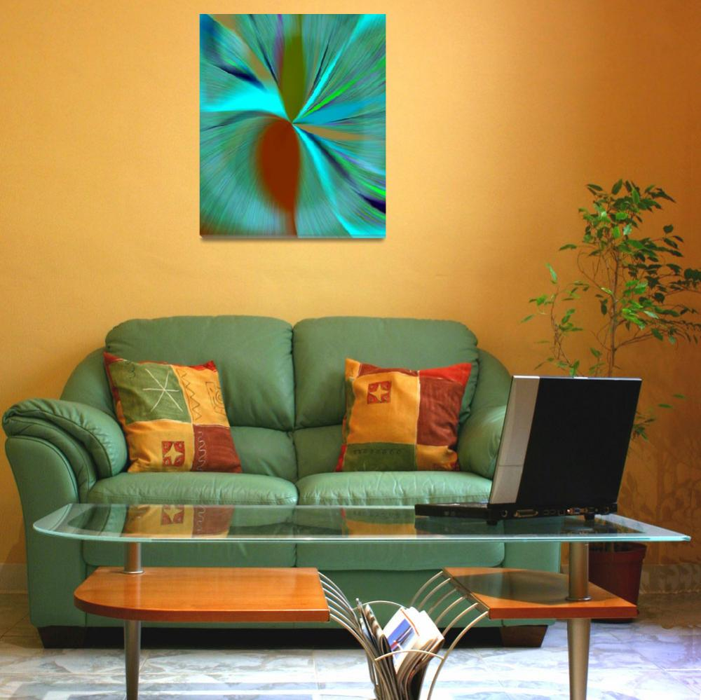 """""""Tantalizing Turquoise&quot  (2008) by RuthPalmer"""