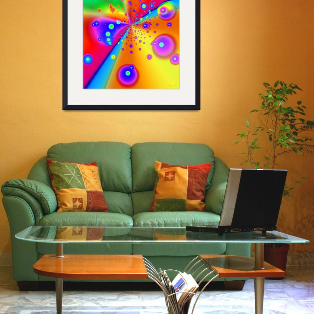 """""""Colorful Fractal 6""""  (2006) by AnneVis"""