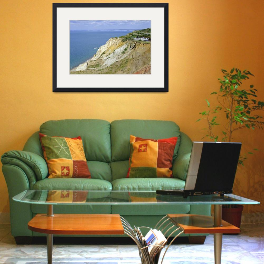 """Alum Bay, Coloured Sand Cliffs (24984-RDA)&quot  (2012) by rodjohnson"