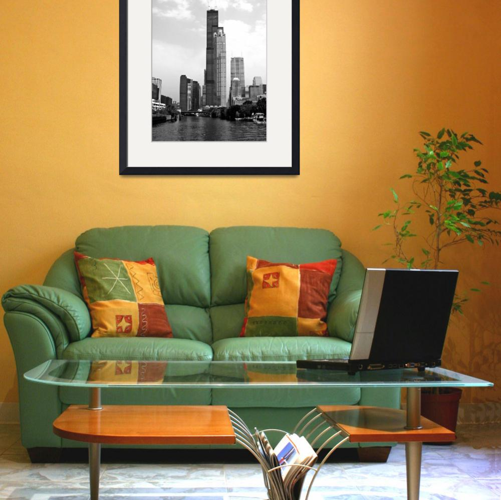 """Chicago Skyline&quot  (2004) by enigmafoto"