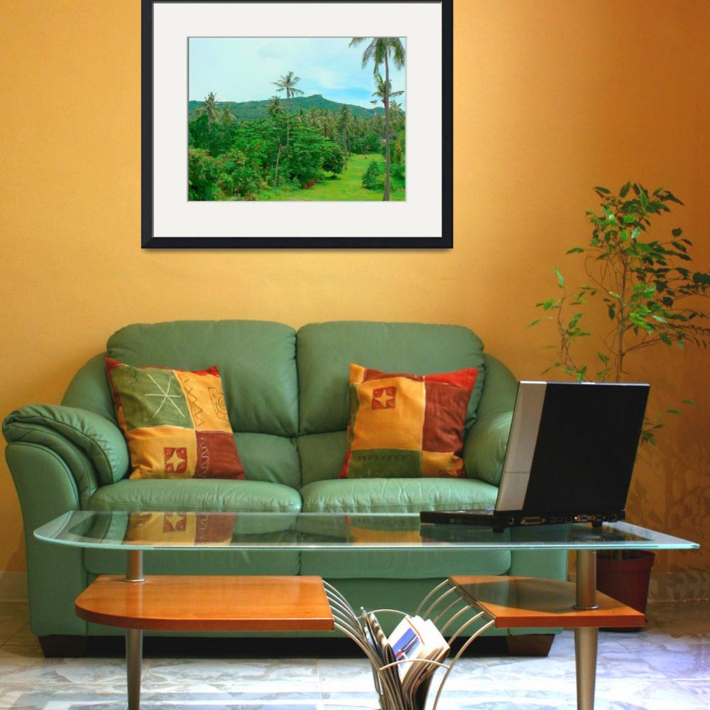 """""""Palms and golf course&quot  by maistora"""