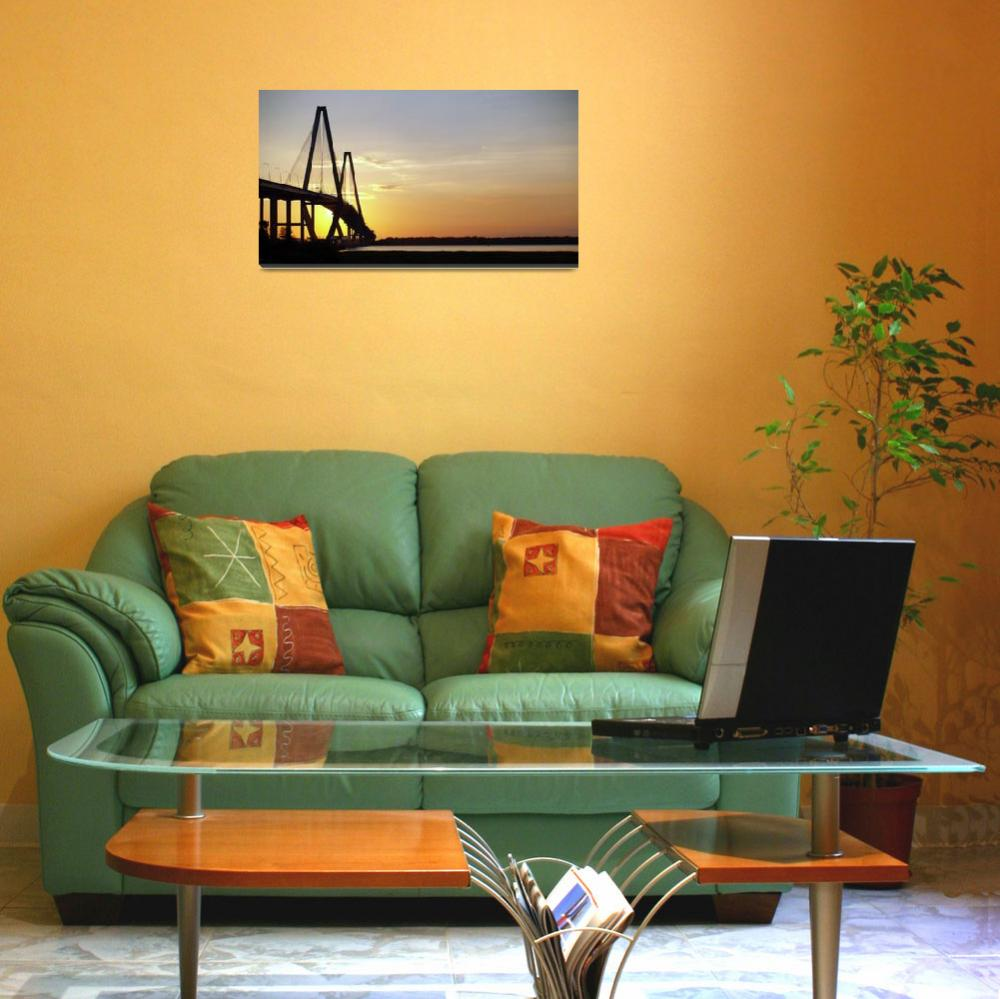 """Arthur Ravenel Bridge Charleston SC Photo by Ginet&quot  (2010) by GinetteCallaway"