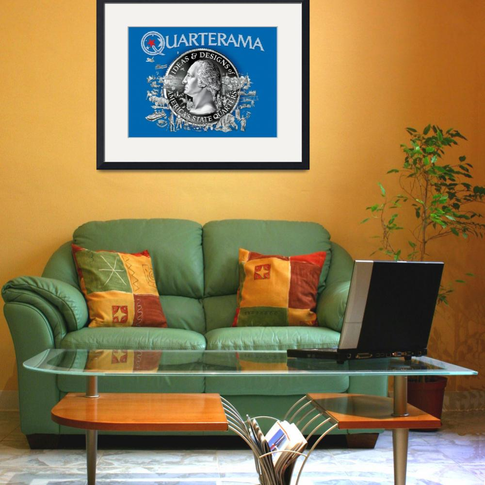 """Quarterama Book Cover""  by statequarters"