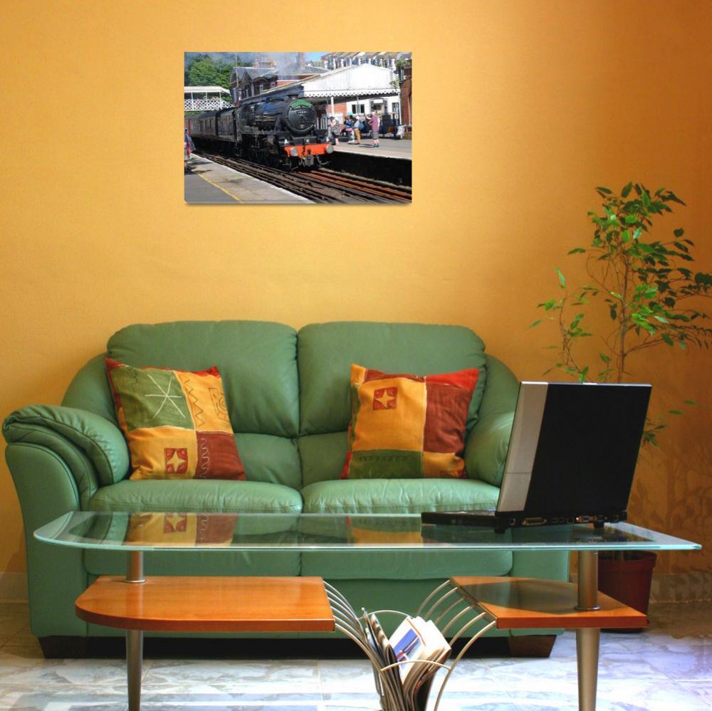 """LMS Class 5 steam locomotive, England&quot  (2019) by DavidFowler"
