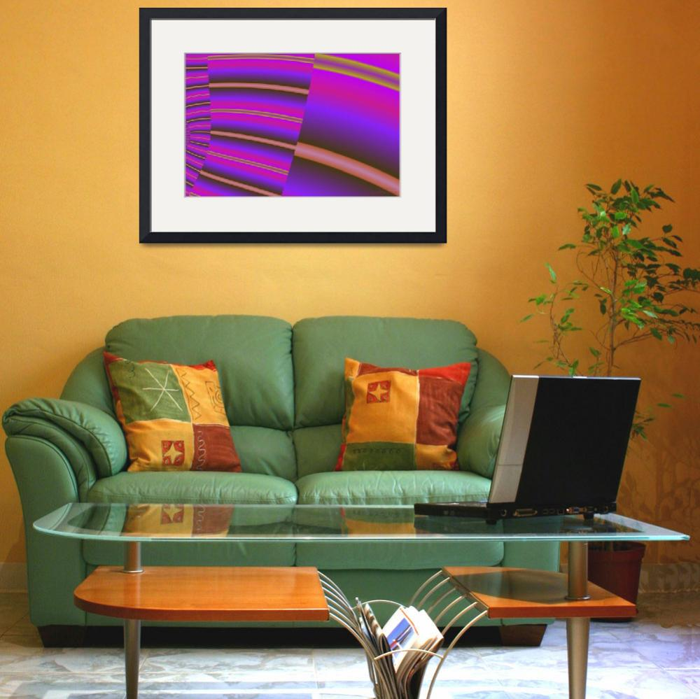 """Fractal Decor (1 of 2)&quot  (2012) by WallArtDeco"