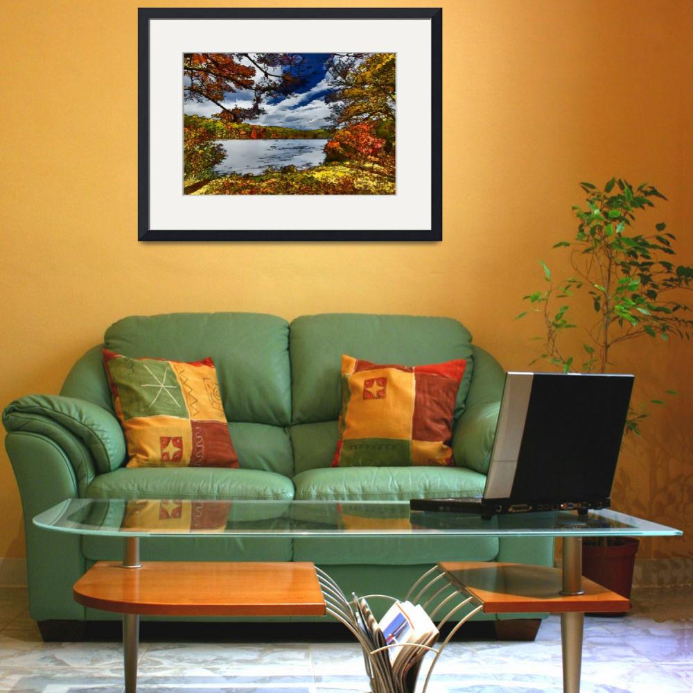 """""""Harriman State Park Fall / Autumn Scene&quot  (2012) by New-Yorkled"""