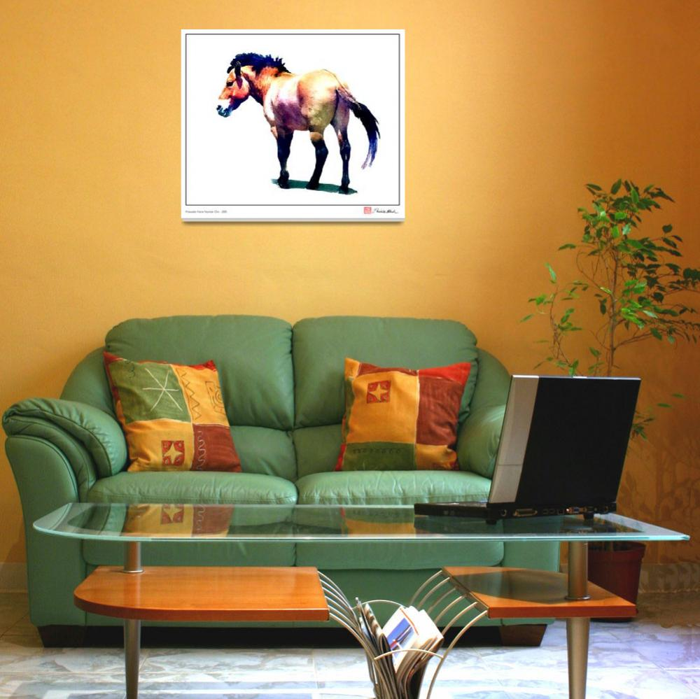 """Przewalski Horse Number One""  (2007) by MBush1us"