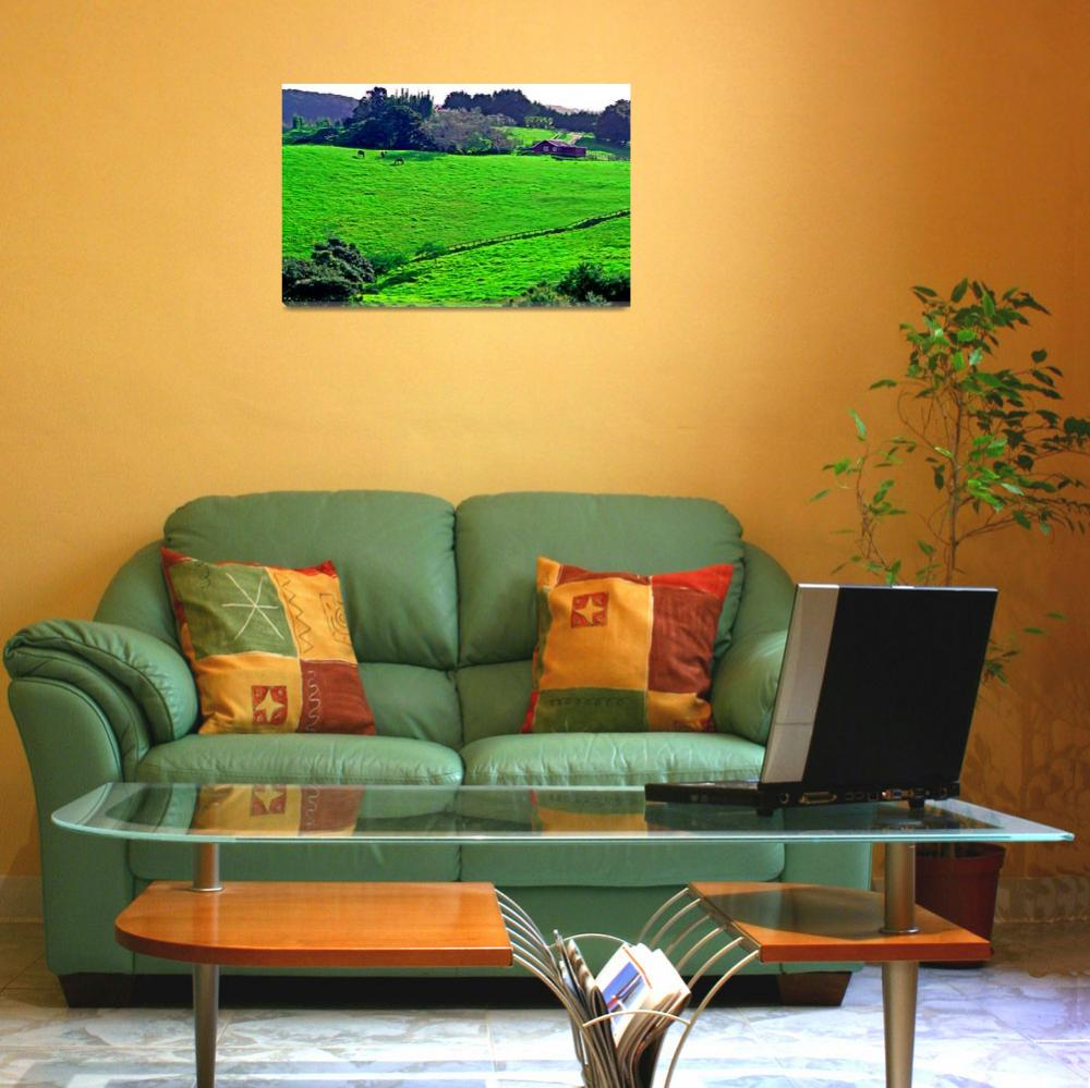 """""""North Auckland Pasture&quot  (2005) by skystudioNZ"""
