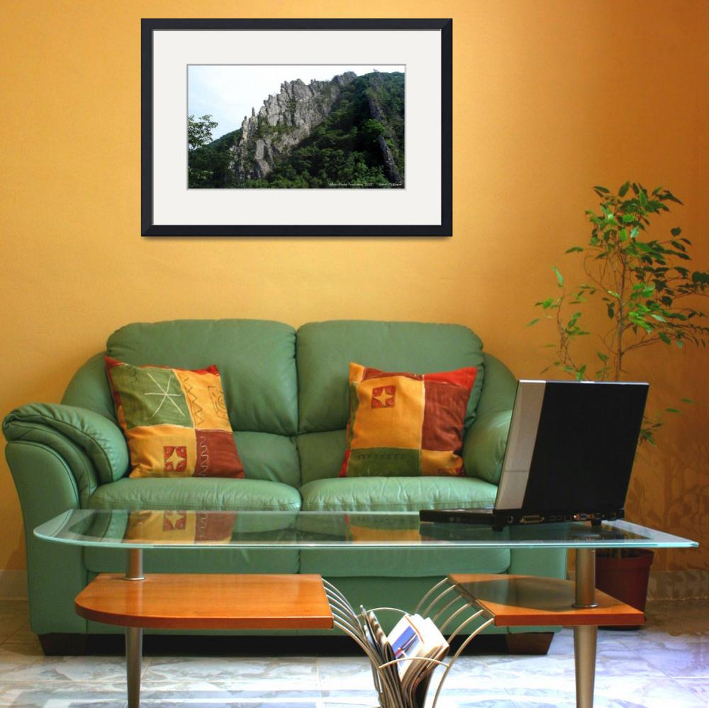 """""""Nelson Rocks, WV Panorama&quot  by insan_art"""
