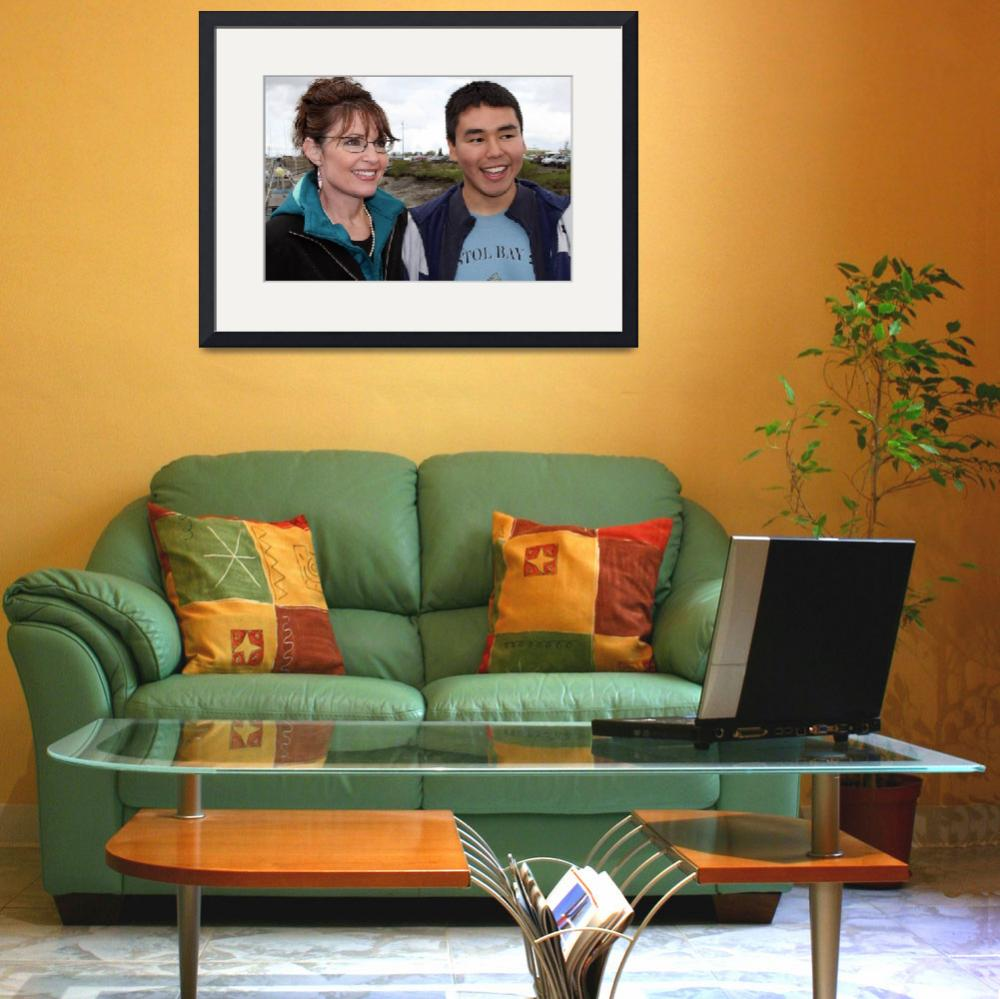 """""""Sarah Palin & Verner Wilson&quot  by triciaward"""