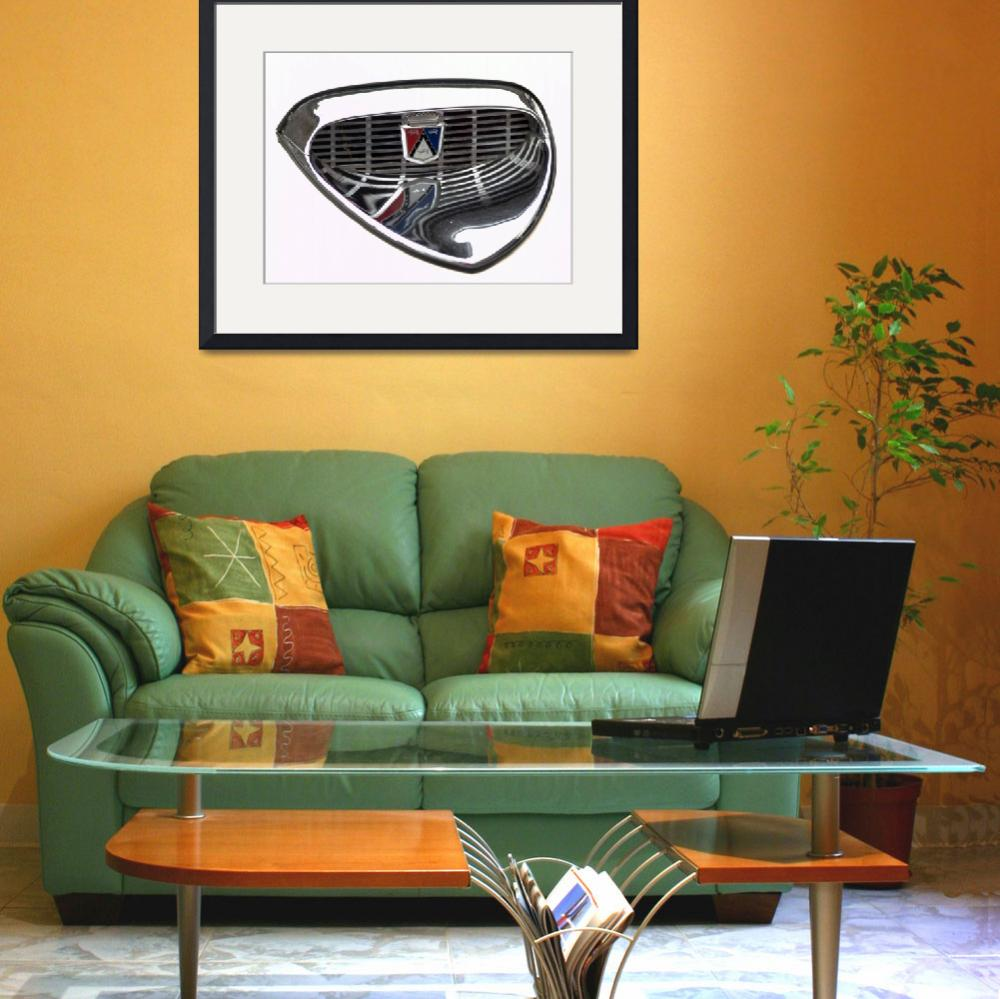 """""""60s Ford Fairlane Hood Scoop&quot  (2010) by janesclassiccarphotos"""