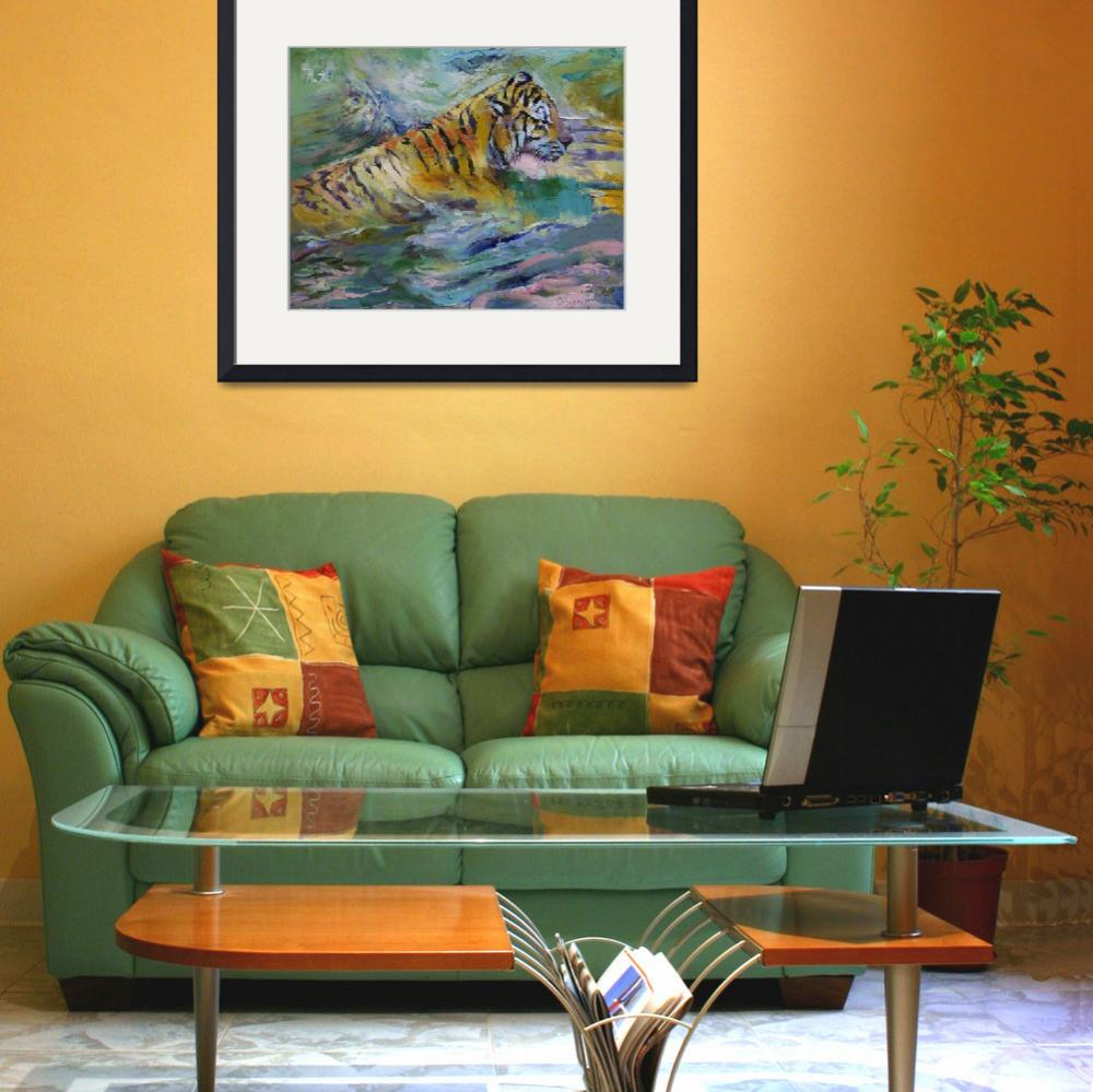 """""""Tiger Reflections&quot  by creese"""