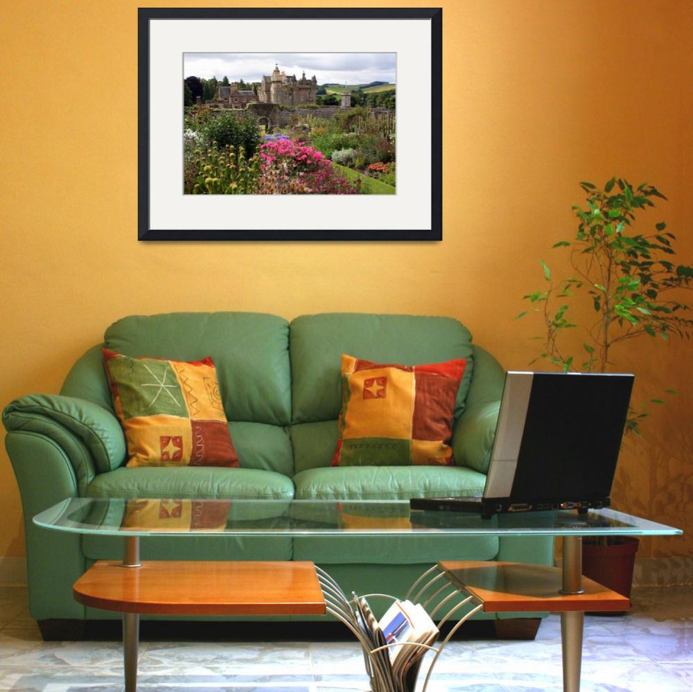 """""""Abbotsford House from the gardens&quot  by michellekelley"""