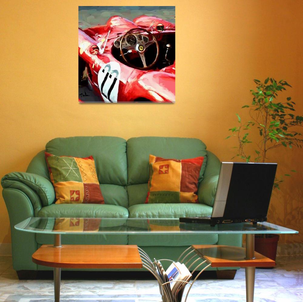 """Ferrari # 22""  (2017) by ArtbySachse"