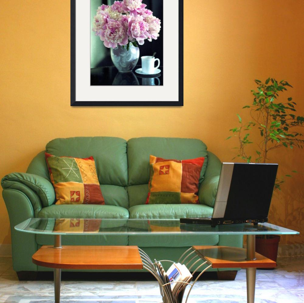 """""""Multicolored peonies""""  (2012) by gmart"""