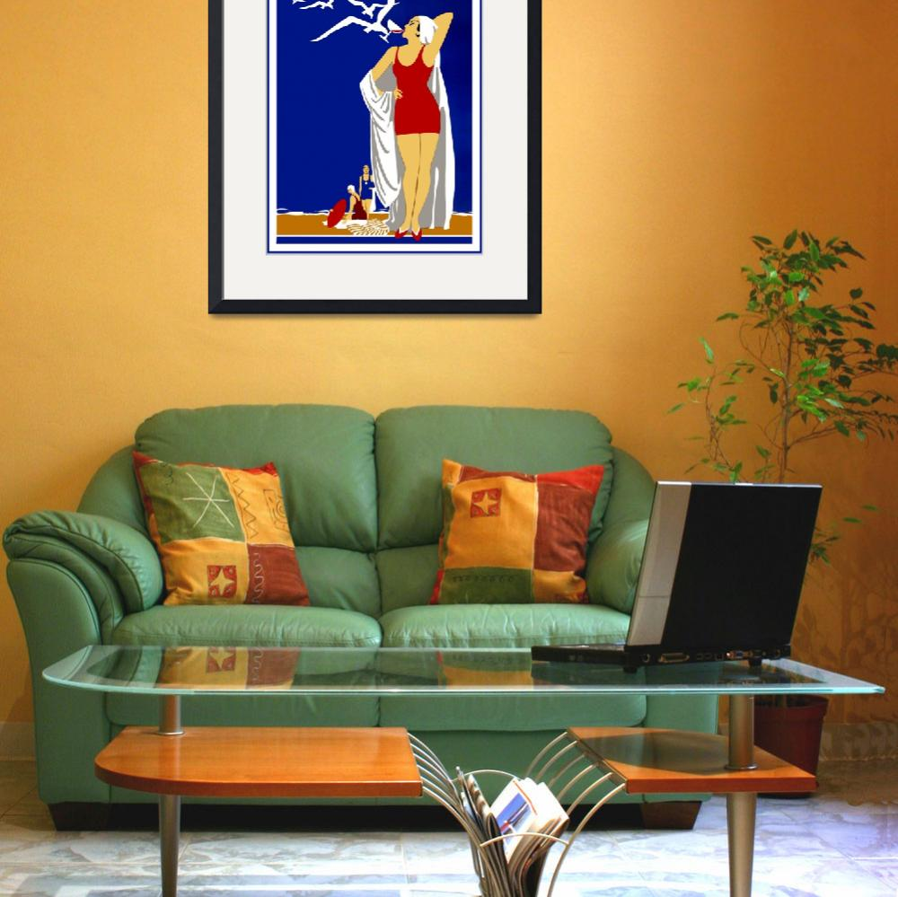 """""""New York Vintage Travel Poster (4)&quot  by shanmaree"""