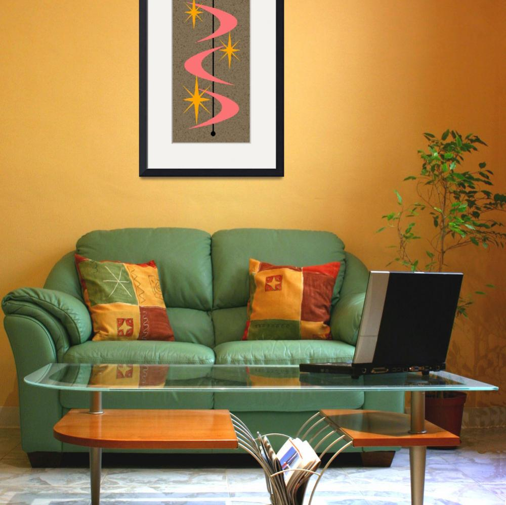 """""""Mid Century Modern Shapes 5&quot  (2014) by DMibus"""