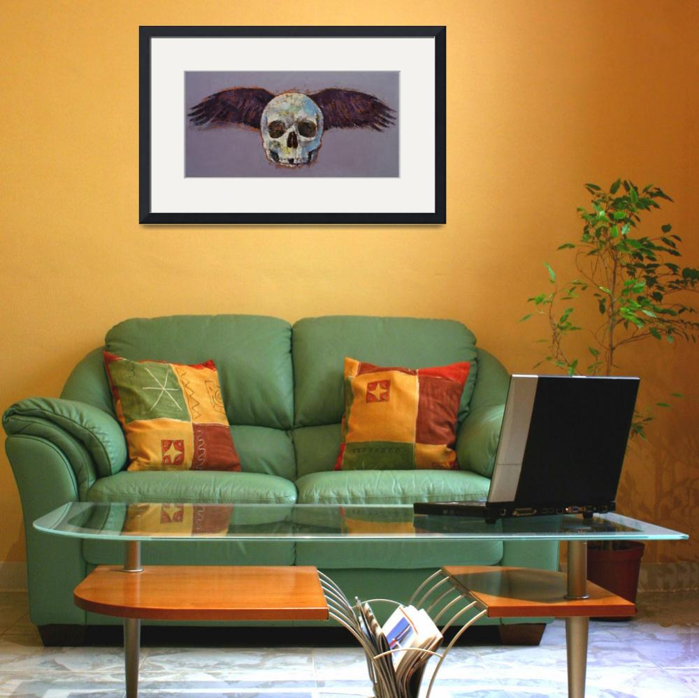 """""""Raven Skull""""  by creese"""