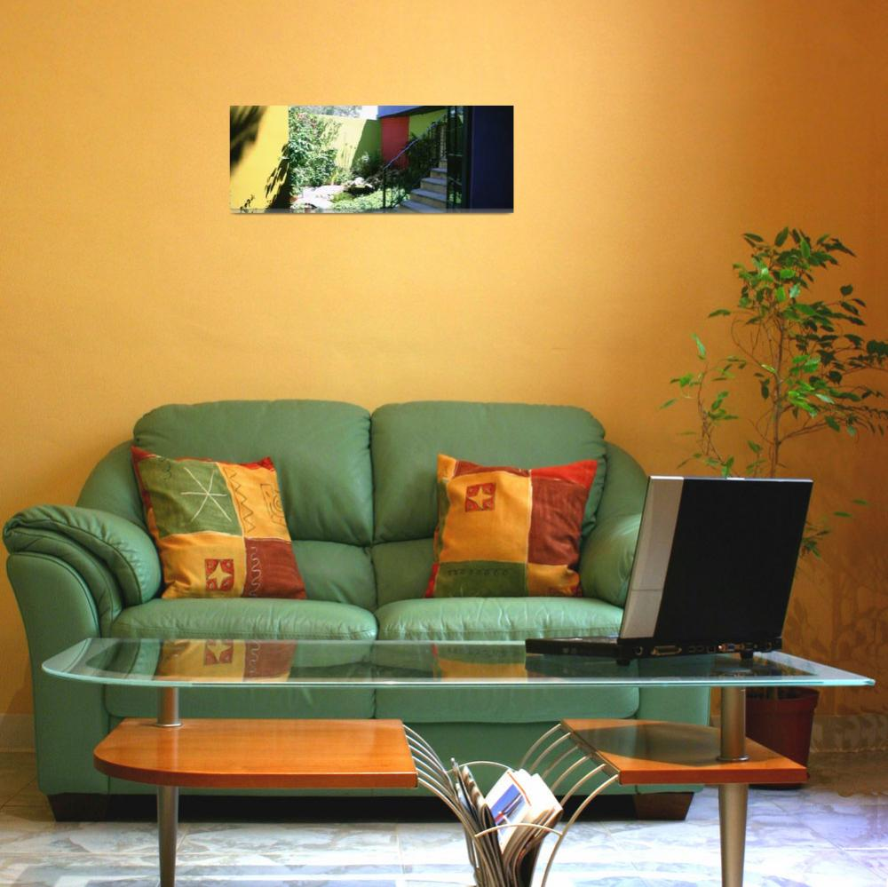 """""""Plants in front of a house&quot  by Panoramic_Images"""