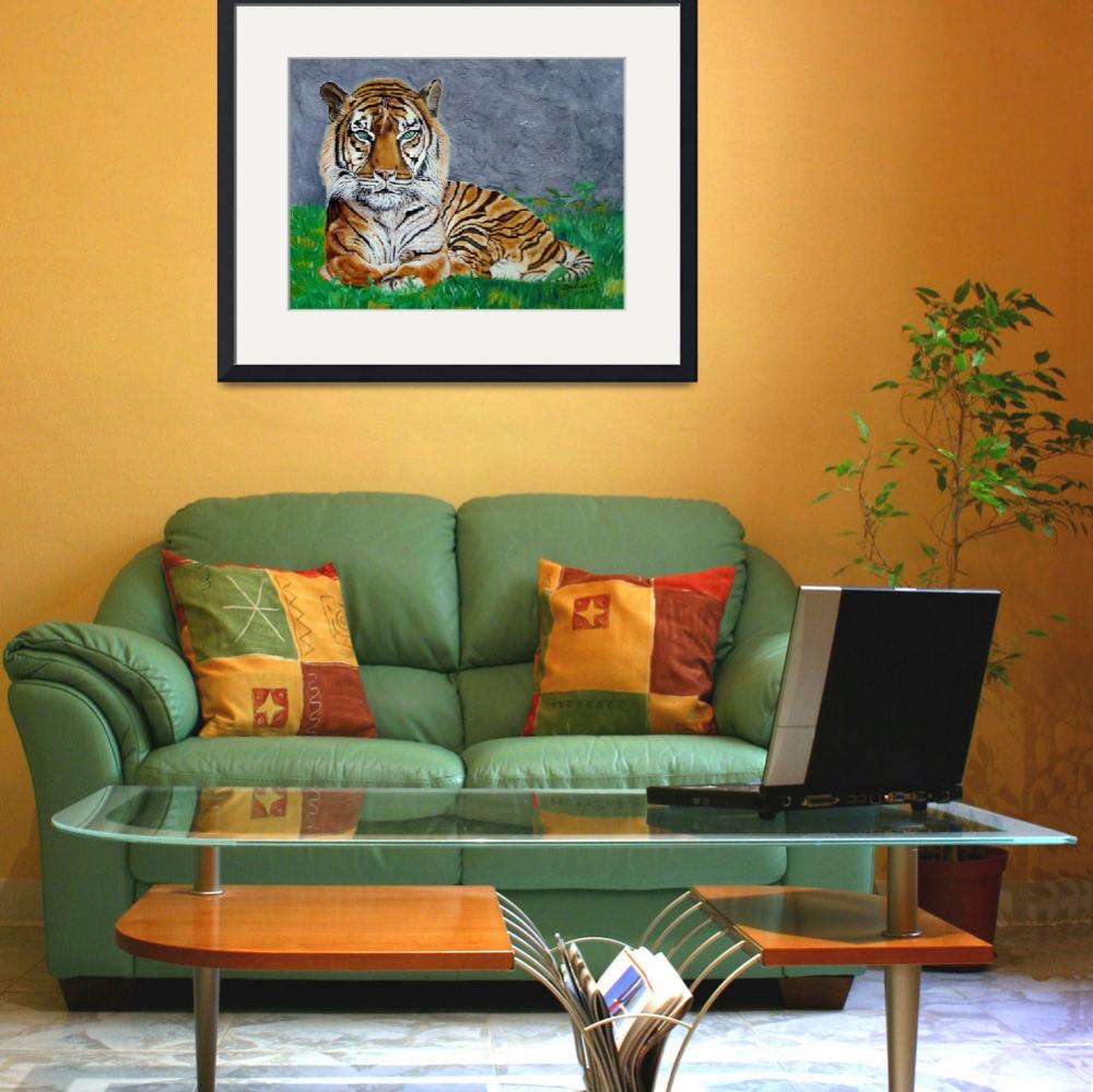 """""""The Tiger&quot  (2007) by BarbaraPelizzoli"""