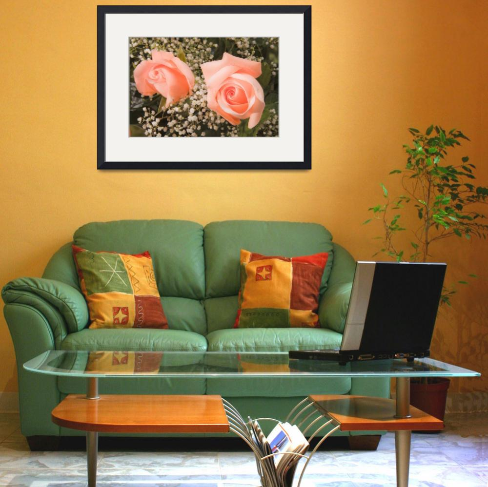 """Pink Roses Fine Art Photography Print&quot  (2009) by lightningman"