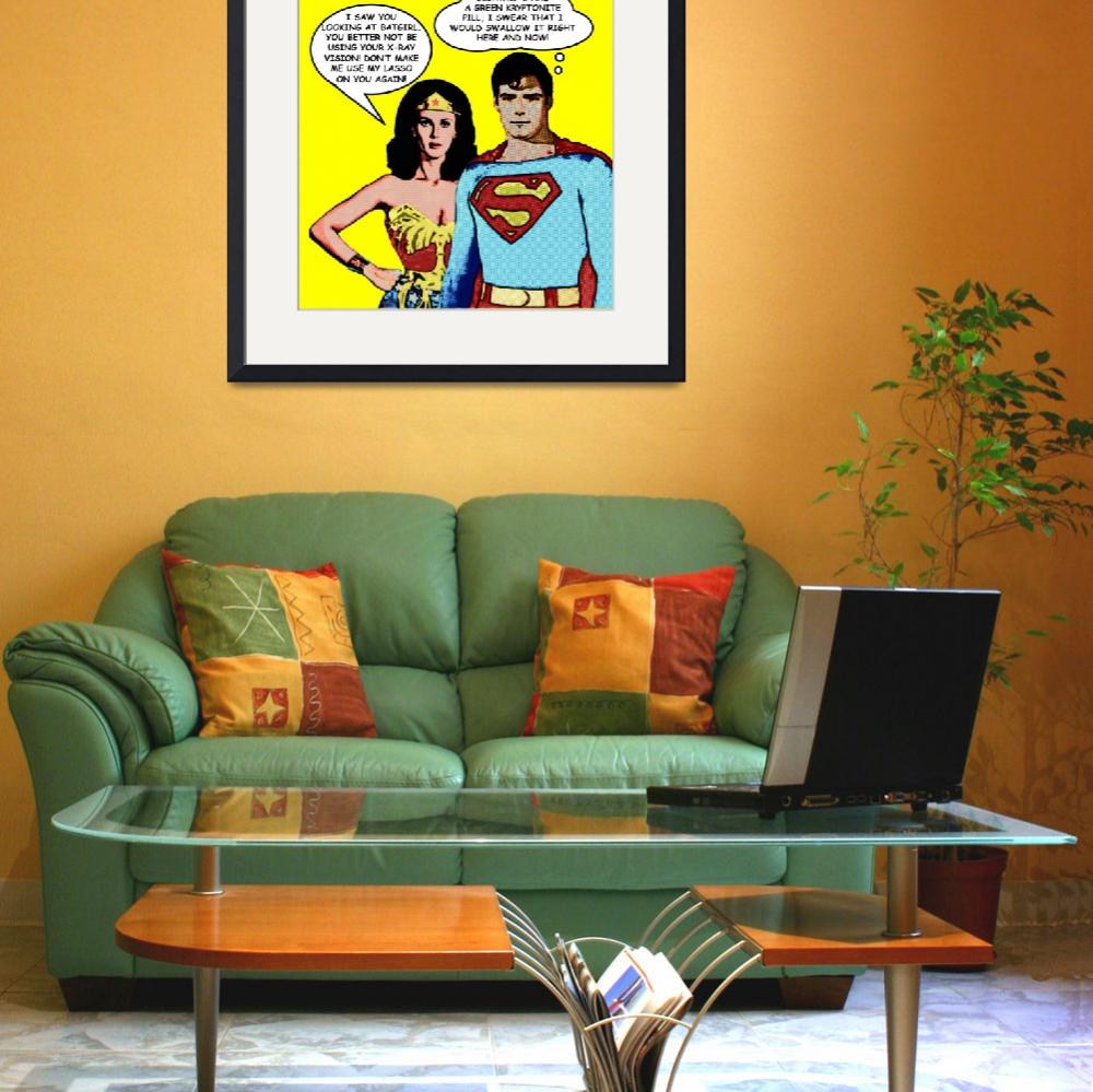 """""""""""When Superheroes Date""""&quot  (2011) by Automotography"""