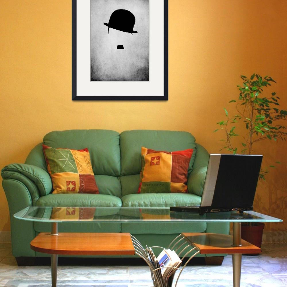"""""""Tribute To Charlie Chaplin BW&quot  (2012) by ronik"""