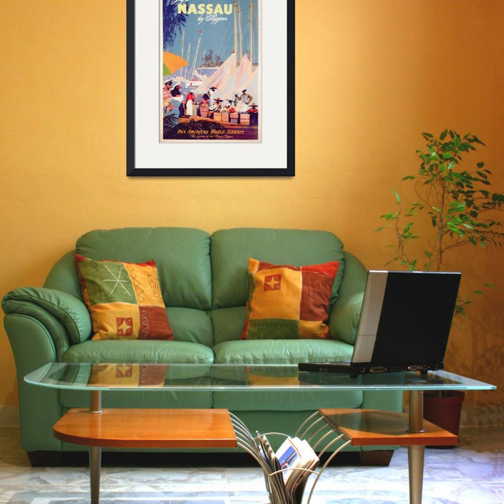 """""""Poster advertising Nassau&quot  by fineartmasters"""
