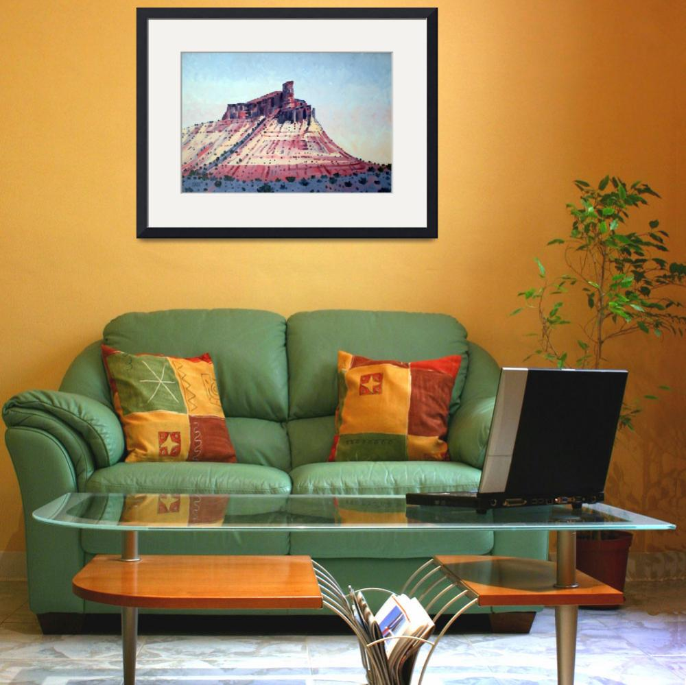 """""""Chimney Rock oil&quot  (2009) by maiergallery"""