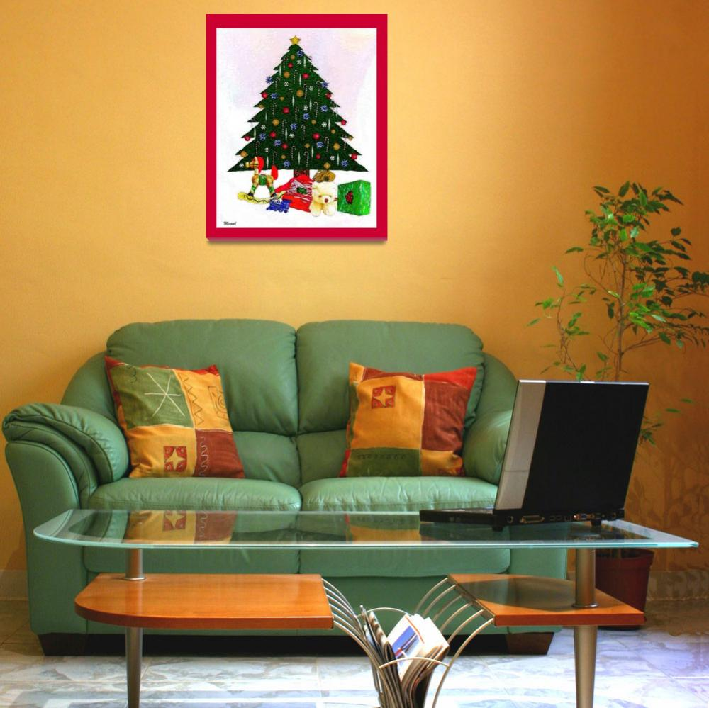"""""""Surreal Christmas Tree Print""""  (2009) by trevortrent"""