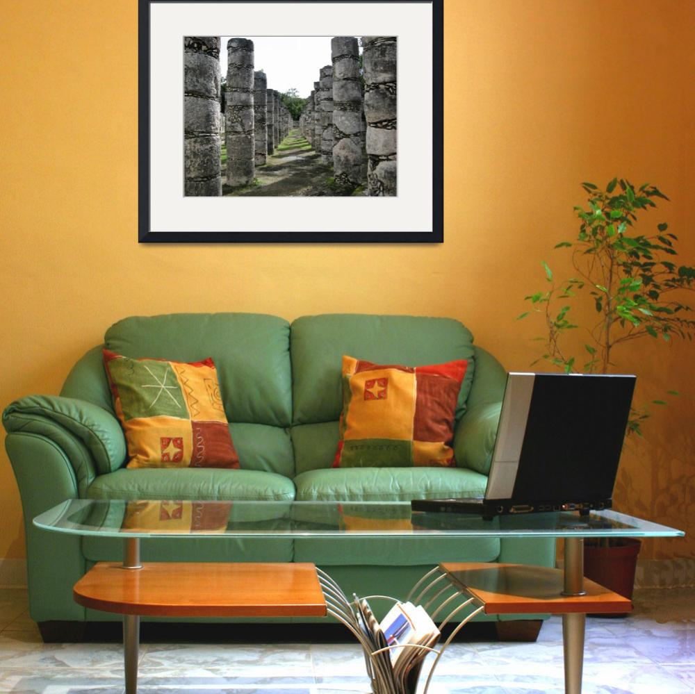 """""""Mayan Columns&quot  (2007) by marcneen"""