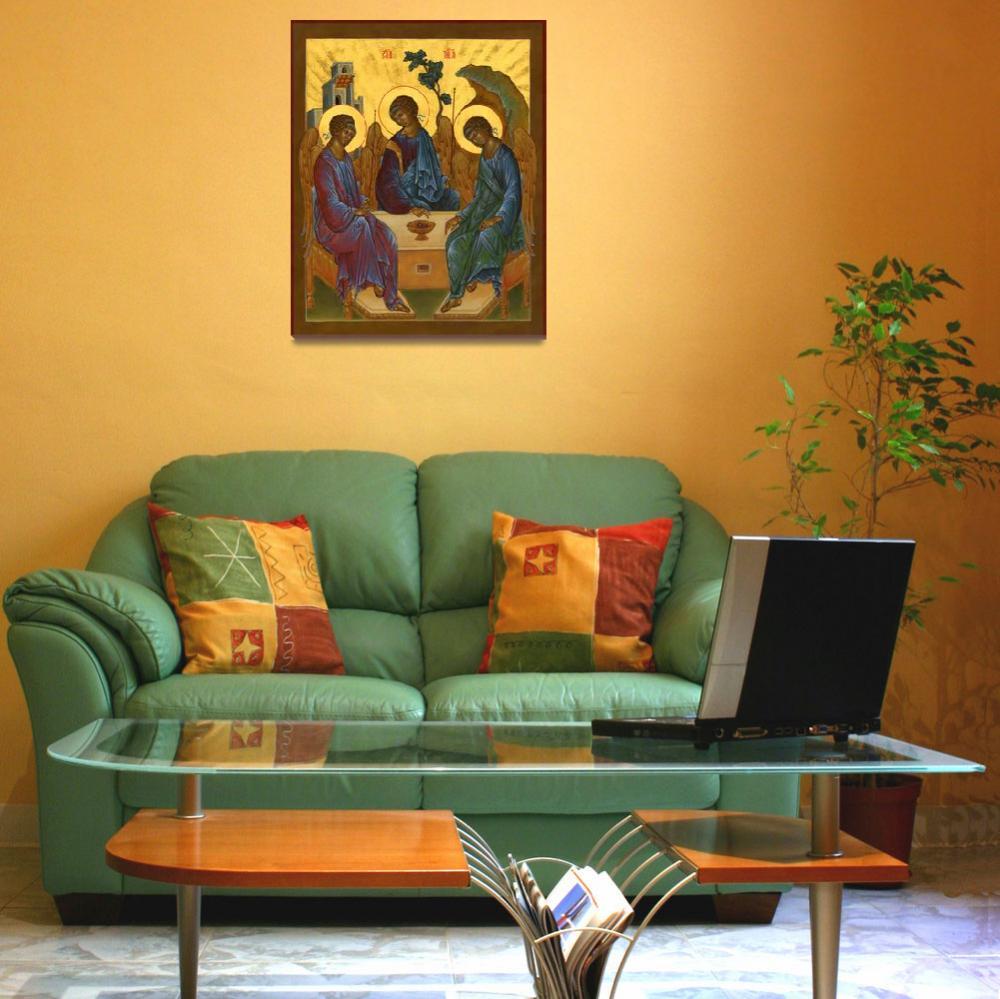 """Holy Trinity Icon""  by Ingri"
