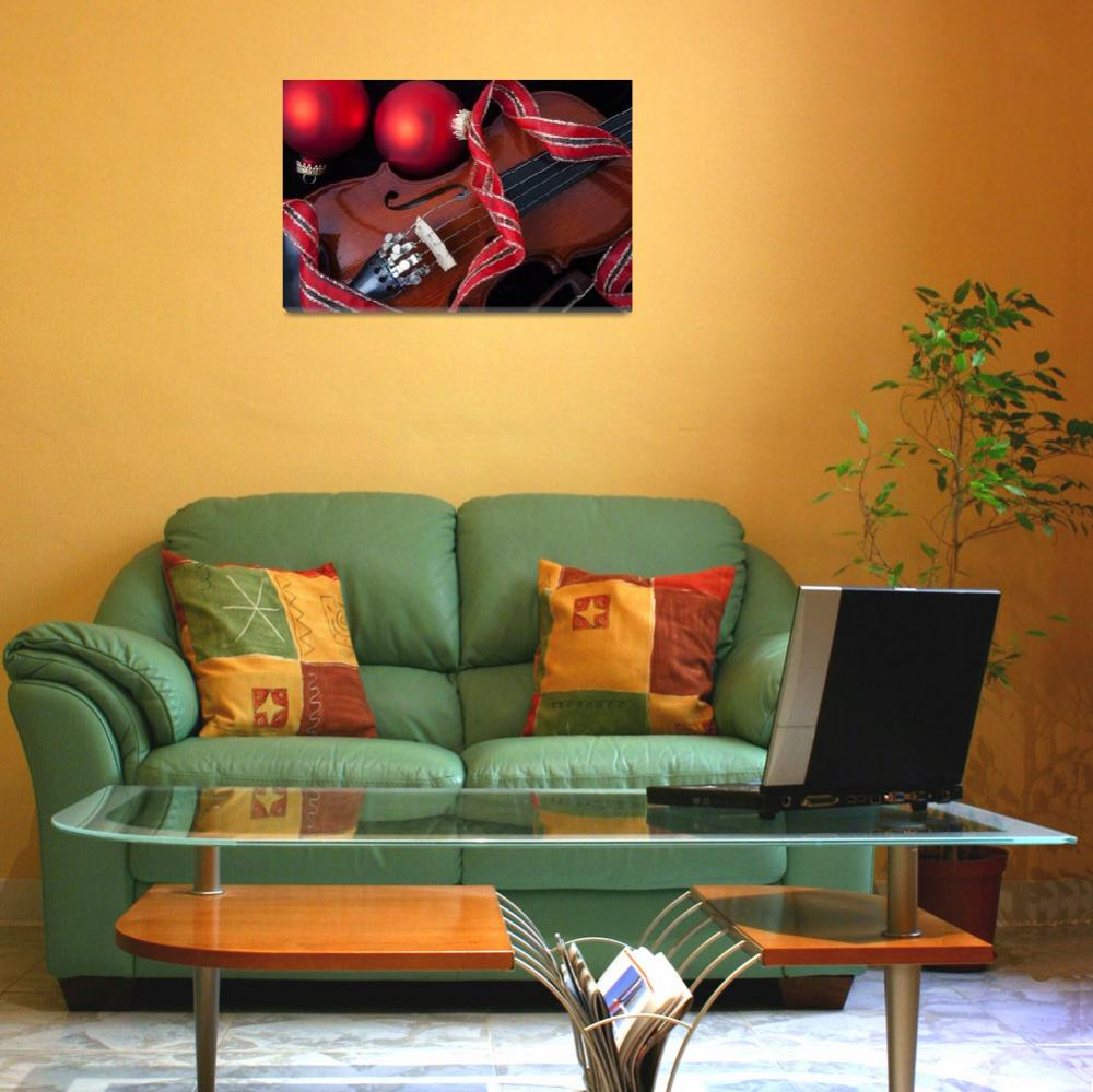 """""""Violin and red ornaments""""  (2012) by photogarry"""
