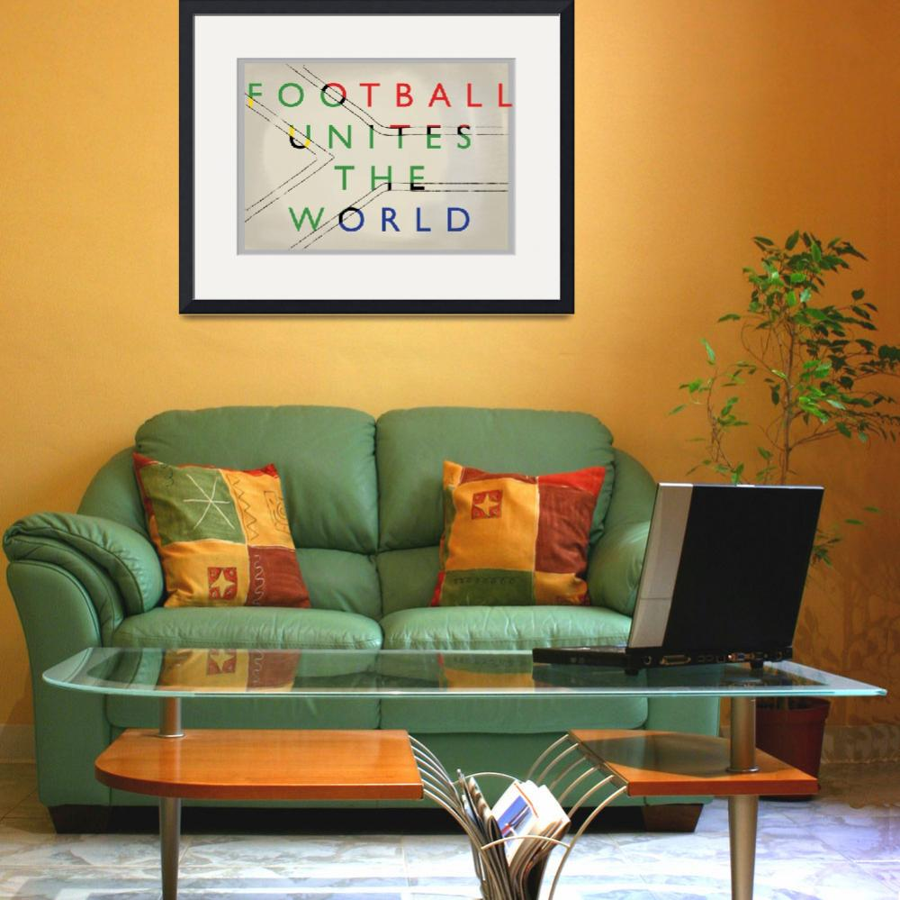 """""""Football World Cup South Africa 2010""""  (2010) by jksn-editions"""