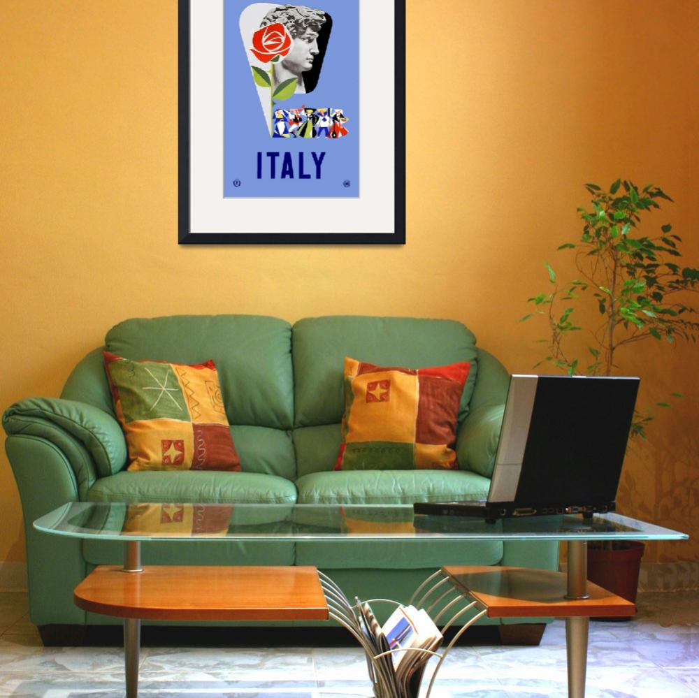 """Vintage Italy Travel""  by PDGraphics"