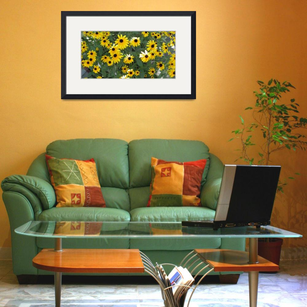 """""""yellow flowers 4&quot  (2010) by sb1photography"""