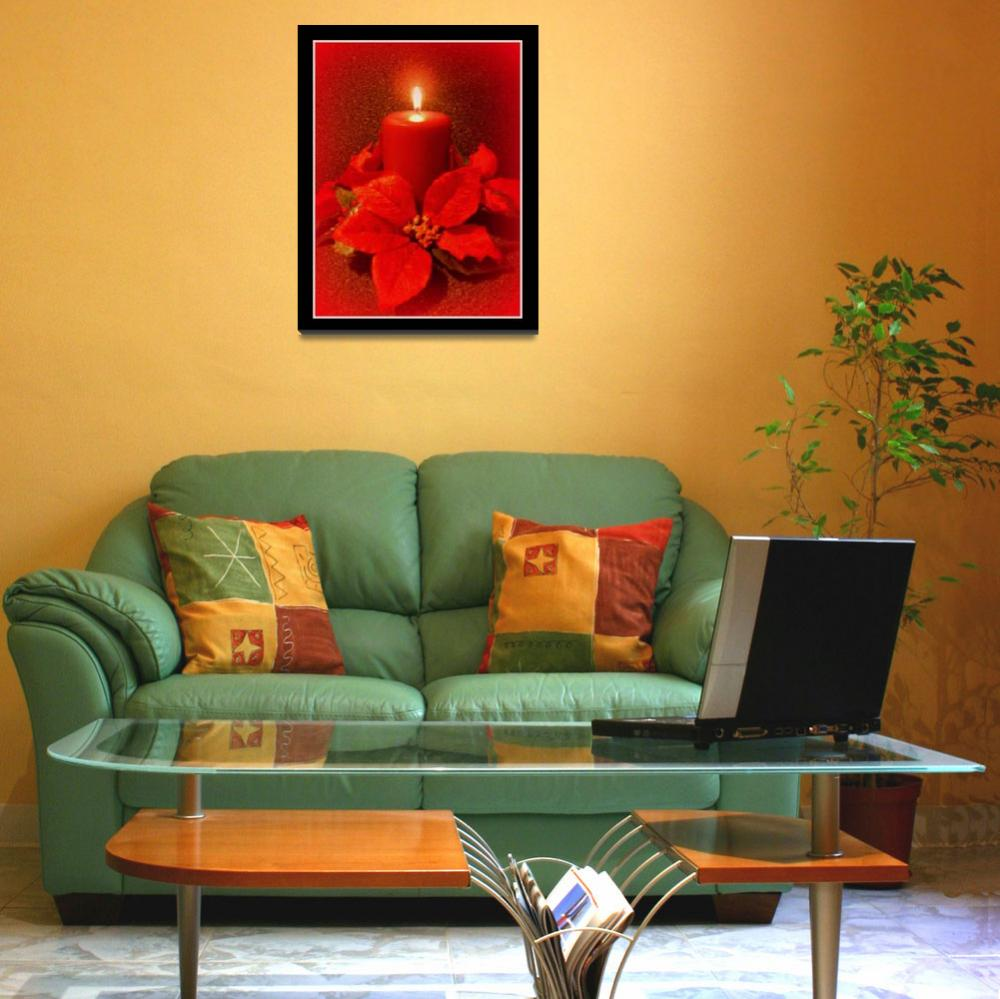 """""""Candle in Red""""  (2008) by micspics444"""
