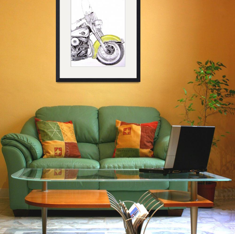 """""""1960 Harley Davidson Duo-Glide""""  (2009) by TJCleary"""
