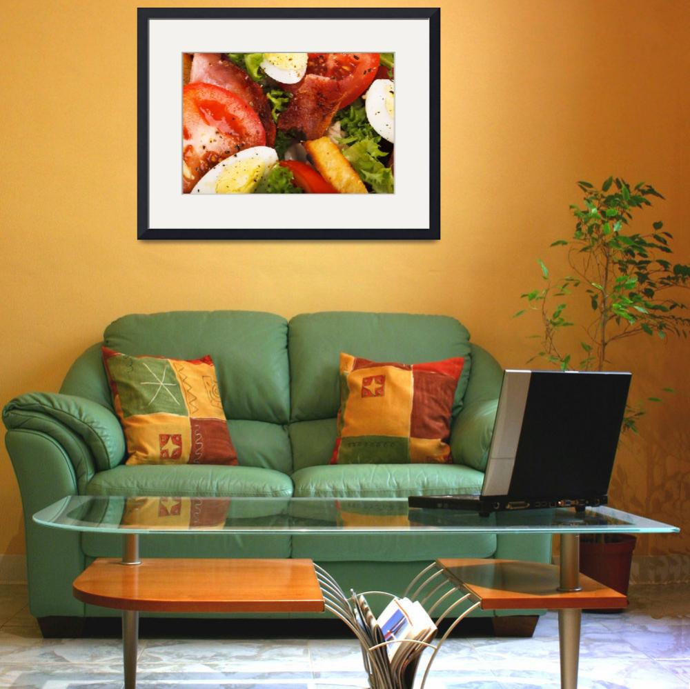 """""""Tomato and Bacon Salad&quot  (2011) by ArgosDesigns"""