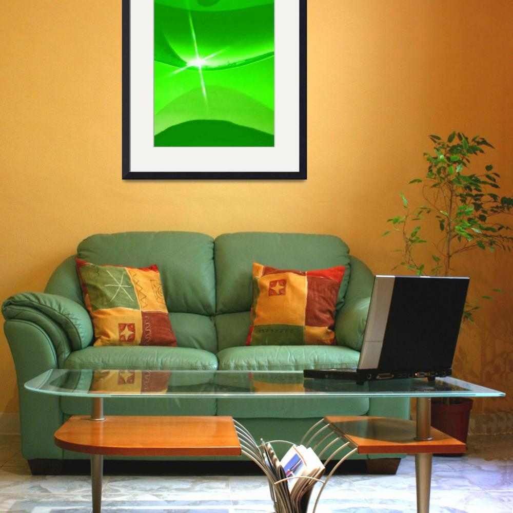 """""""green sunrise""""  (2007) by AES"""