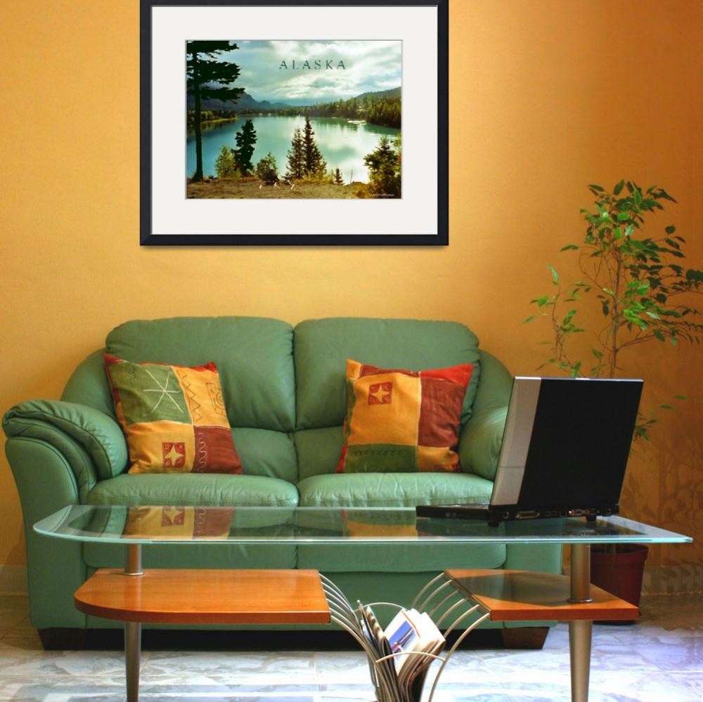 """""""Alaska poster&quot  (2008) by rayjacque"""