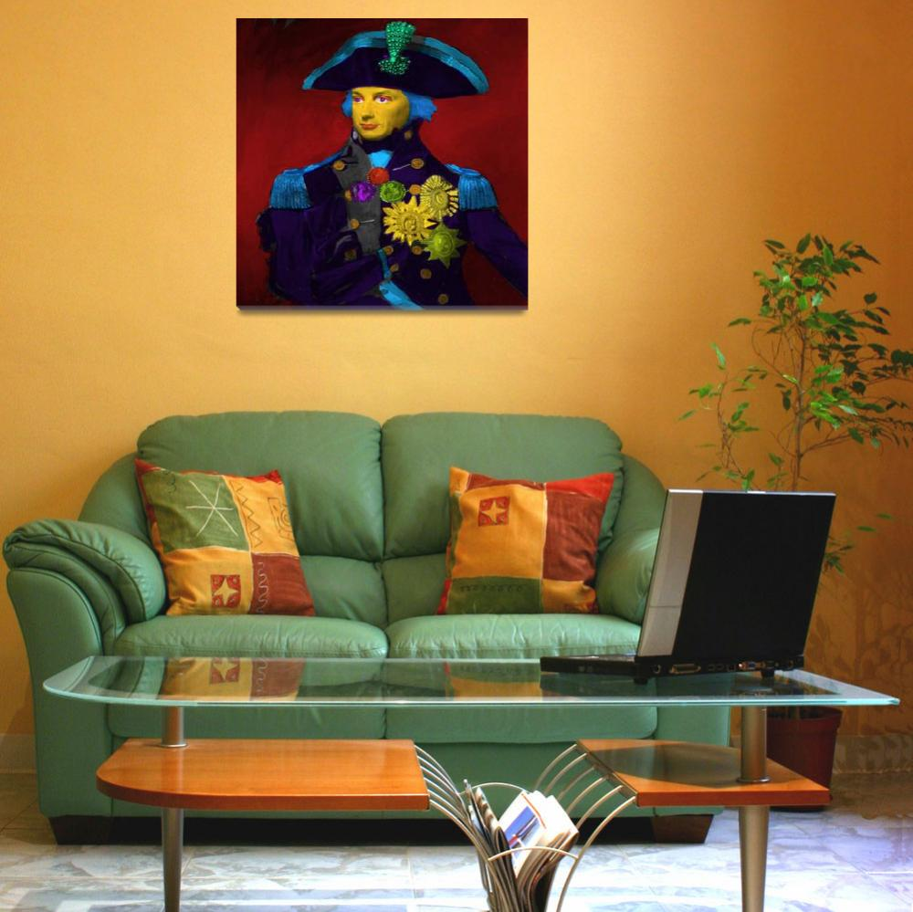 """Horatio Nelson Pop Art""  (2018) by Icarusismart"