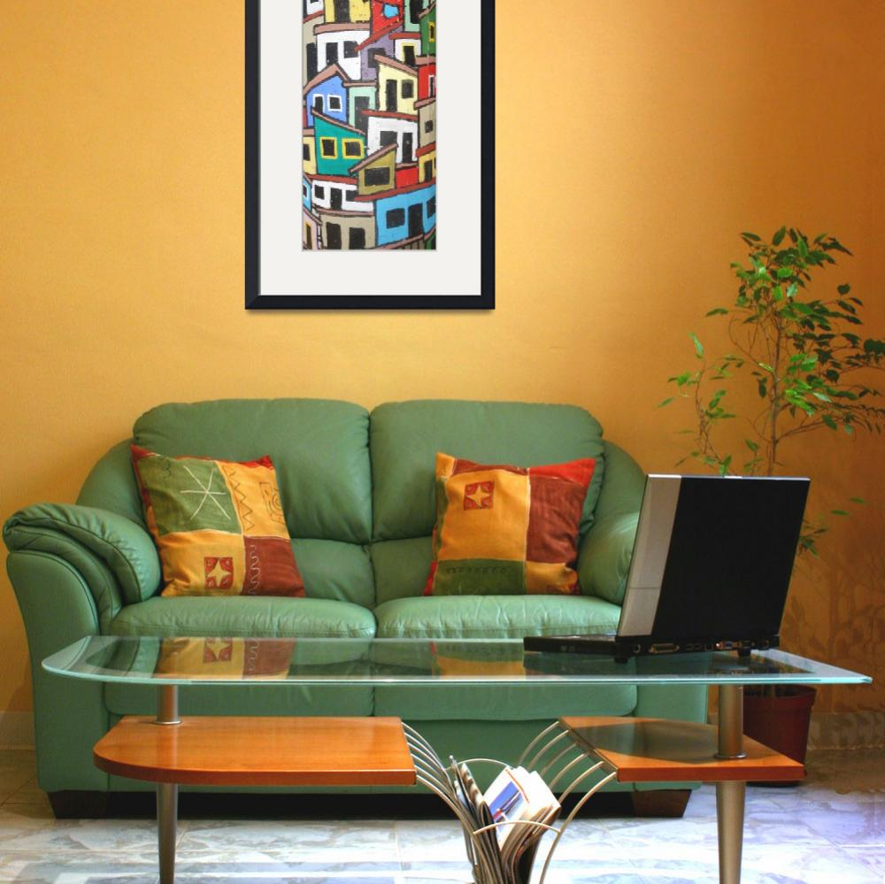 """""""Rio Painting Mural&quot  (2014) by midcenturymodern"""