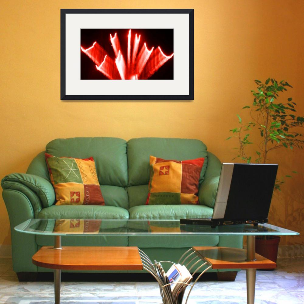 """""""Red Fire Art Fan""""  (2011) by thespiritlift"""