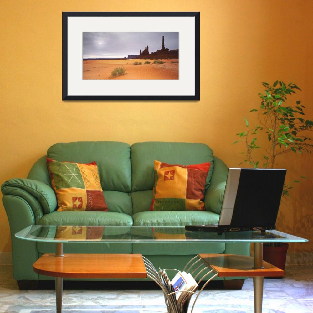 """""""Monument Valley Panorama II&quot  by artlicensing"""
