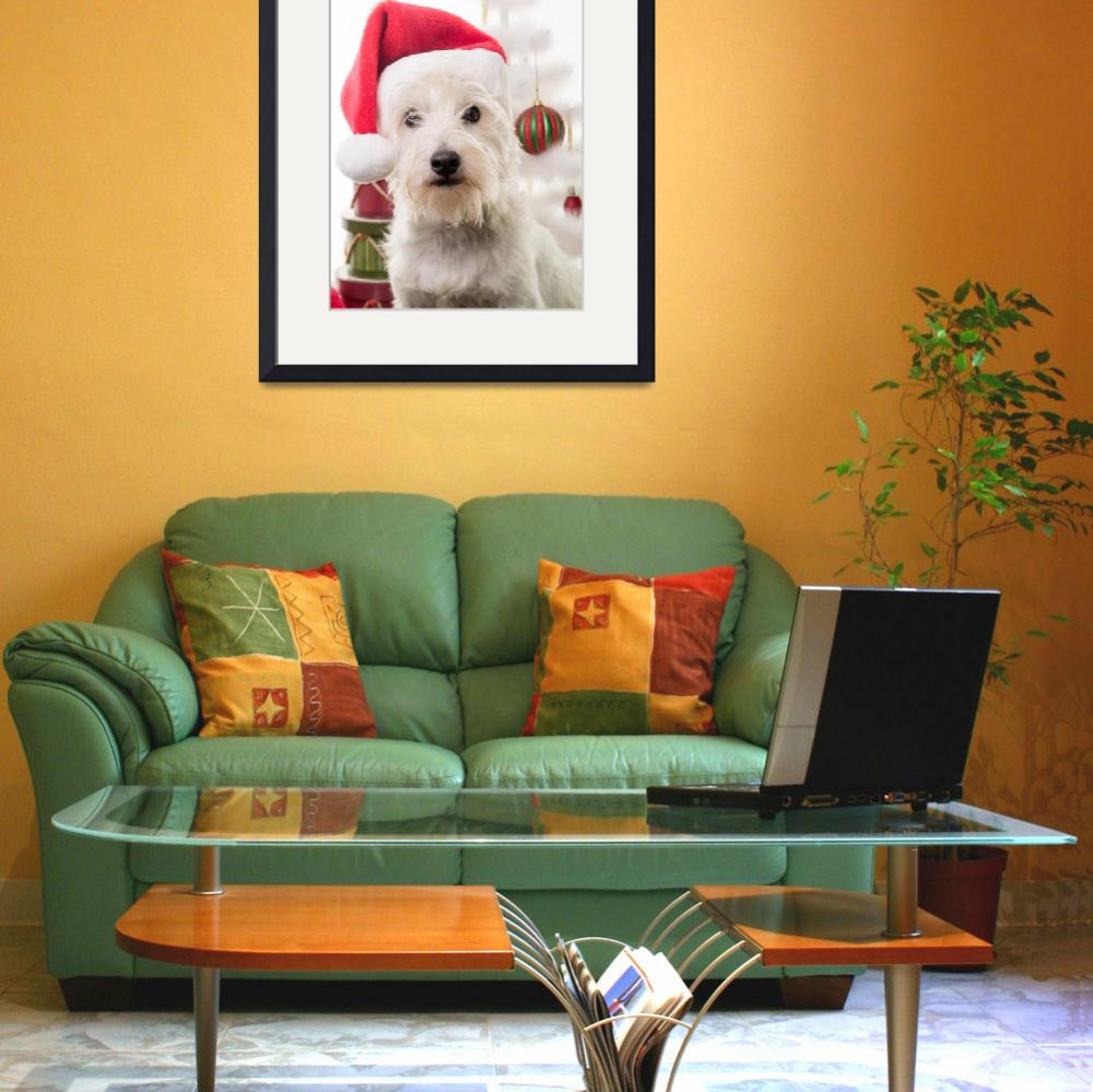 """Santa Claus Dog&quot  (2013) by fielding"