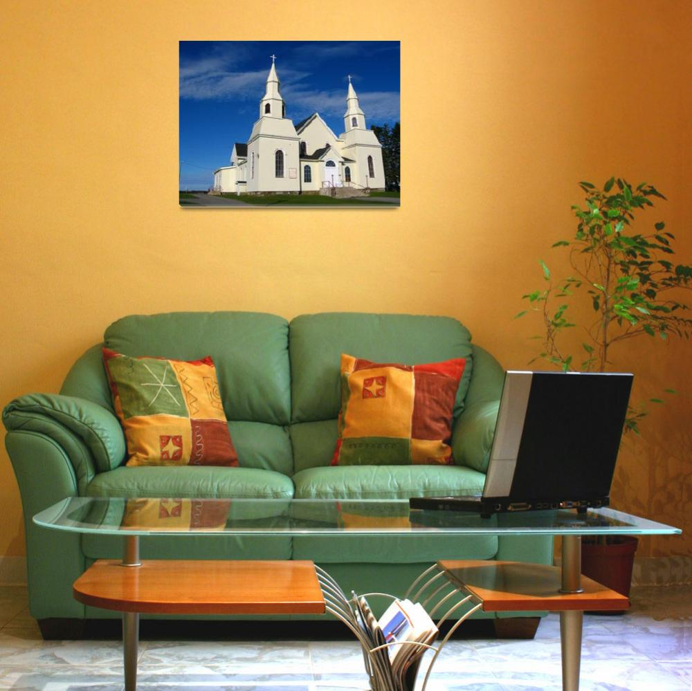 """""""Church in the Sun II&quot  (2009) by dgowre"""