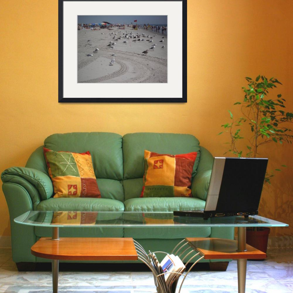 """""""Beach-scape&quot  by fairy"""